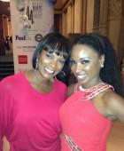 Vanessa & Shanola at event
