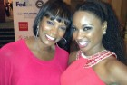 Vanessa & Shanola at event