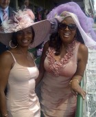 Vanessa & Star Jones at Kentucky Derby