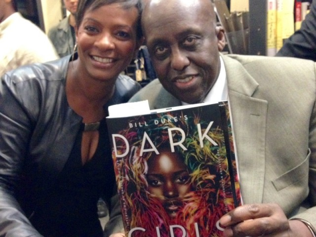 Bill Duke & Vanessa (I'm in this book)