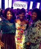 Alfre, VBC & Loretta at Essence Luncheon