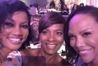 Garcelle, VBC & Lynn at Essence Luncheon
