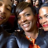 "Vanessa, John Legend & Nia Long Selfie ""LA AWARDS"""
