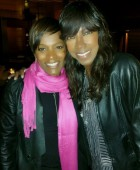 Vanessa & friend Natalie Cole